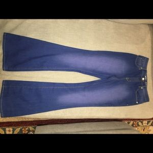 Mossimo High waist 70s vintage style jeans NWOT